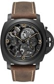 Officine Panerai Special Editions PAM00528 Lo Scienziato - Luminor 1950 Tourbillon GMT Ceramica