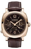 Officine Panerai Special Editions PAM00502 Radiomir 1940 Chrono Monopulsante 8 Days GMT Oro Rosso