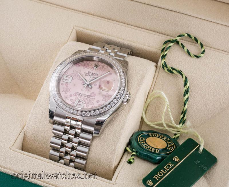 116244 Rolex Datejust 36 mm Datejust Ladies