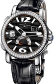 Ulysse Nardin Dual Time 243-55B/62 GMT Big Date 42mm