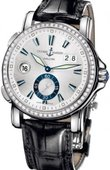 Ulysse Nardin Dual Time 243-55B/91 GMT Big Date 42mm