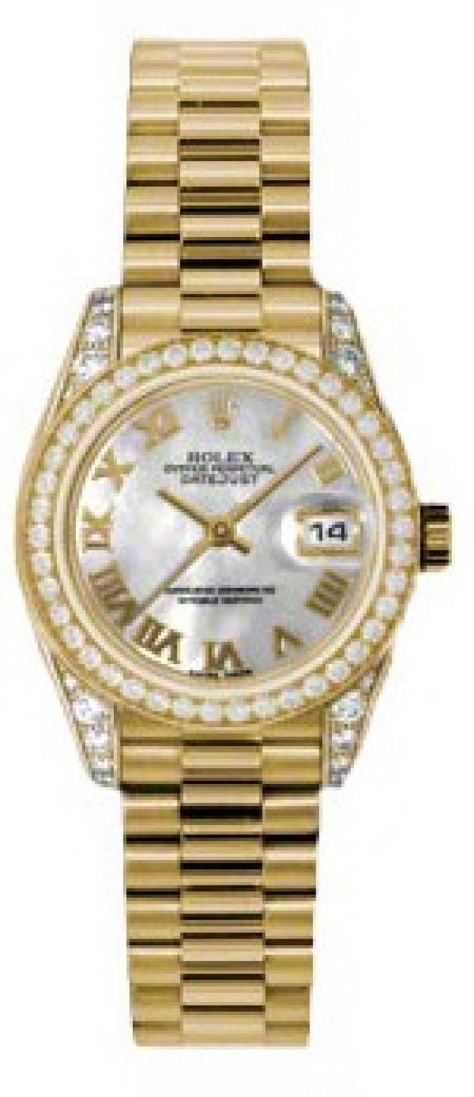 Rolex 179158 mrp Datejust Ladies 26mm Yellow Gold - фото 1