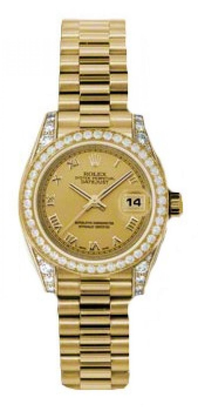 Rolex 179158 chrp Datejust Ladies 26mm Yellow Gold - фото 1