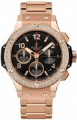 Hublot Big Bang 41mm 341.PX.130.PX.114 Red Gold Diamonds