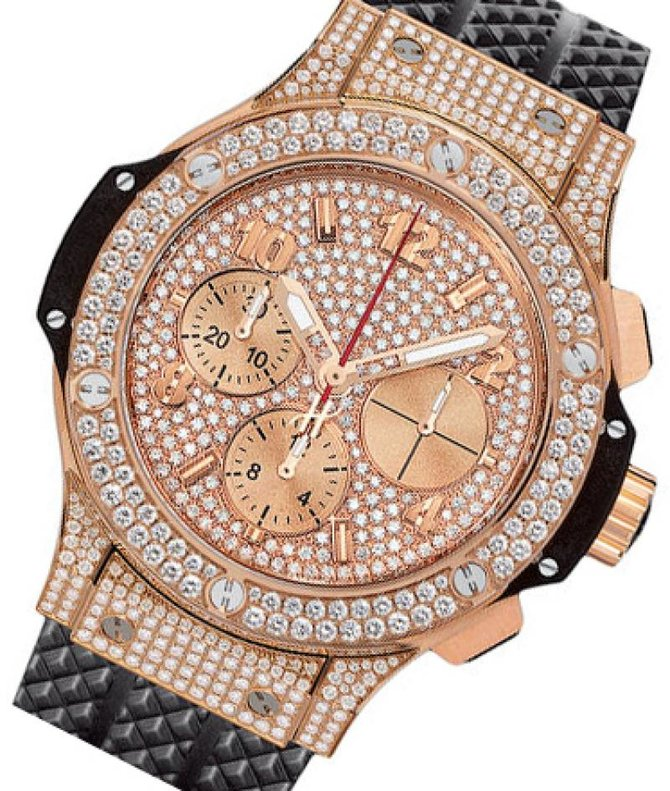 Hublot 341.PX.9010.RX.1704 Big Bang 41mm Red Gold Diamonds - фото 2