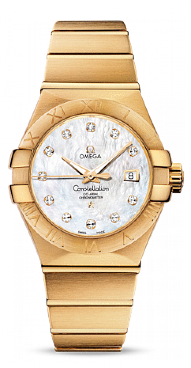123.50.31.20.55-002 Omega Co-axial Constellation Ladies