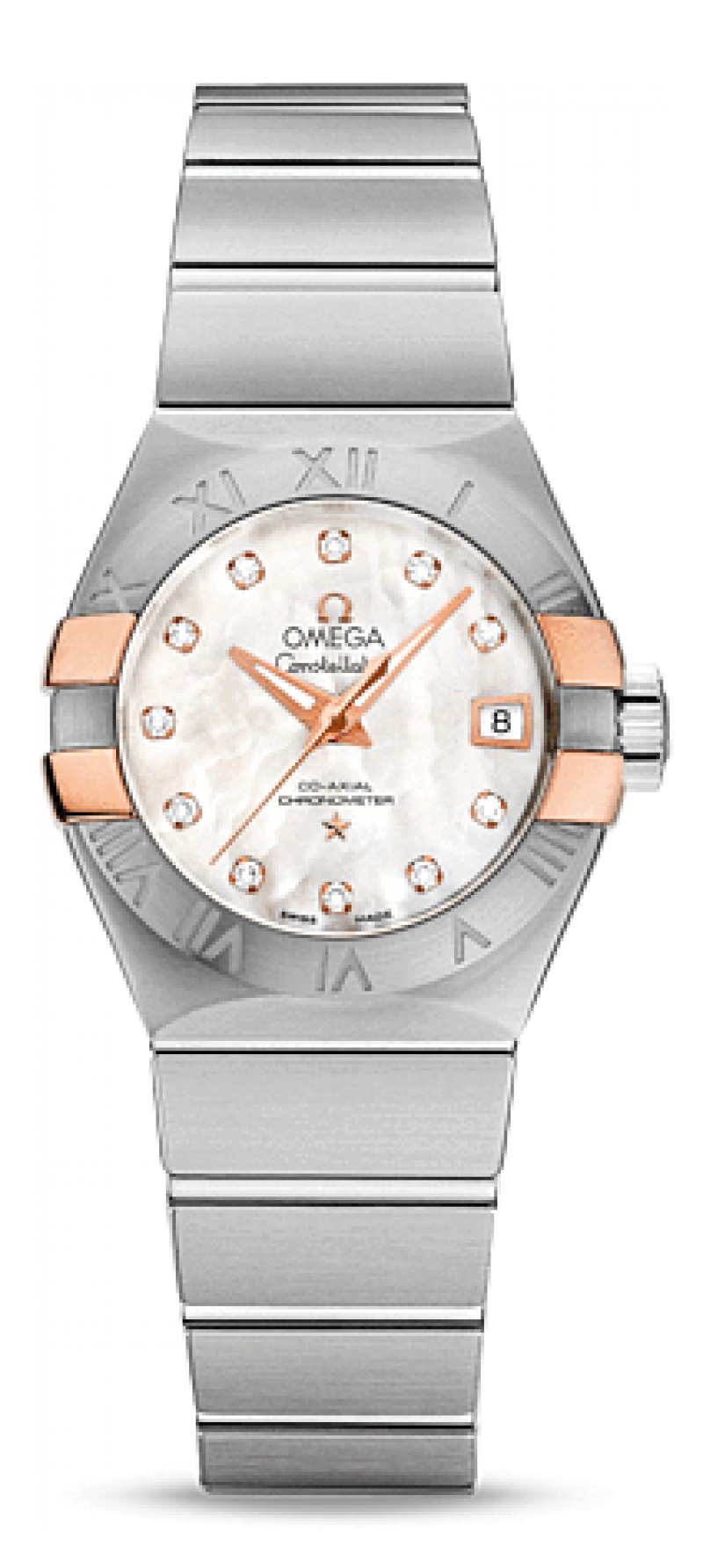 Omega Constellation Ladies Watch With Diamonds