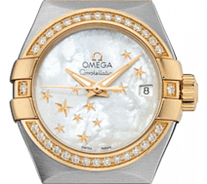 123.25.27.20.05-001 Omega Co-axial Constellation Ladies