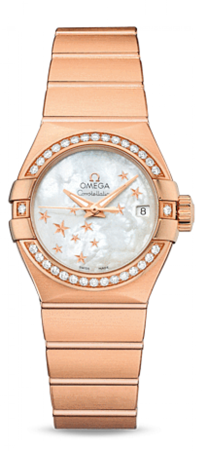123.55.27.20.05-003 Omega Co-axial Constellation Ladies