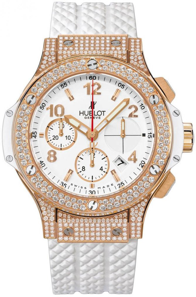 341.PE.2010.RW.1704 Hublot Red Gold White Big Bang 41mm