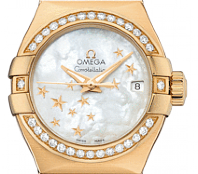 Omega 123.55.27.20.05-001 Constellation Ladies Co-axial - фото 3