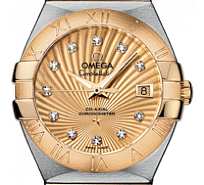 Omega 123.20.27.20.58-001 Constellation Ladies Co-axial - фото 3