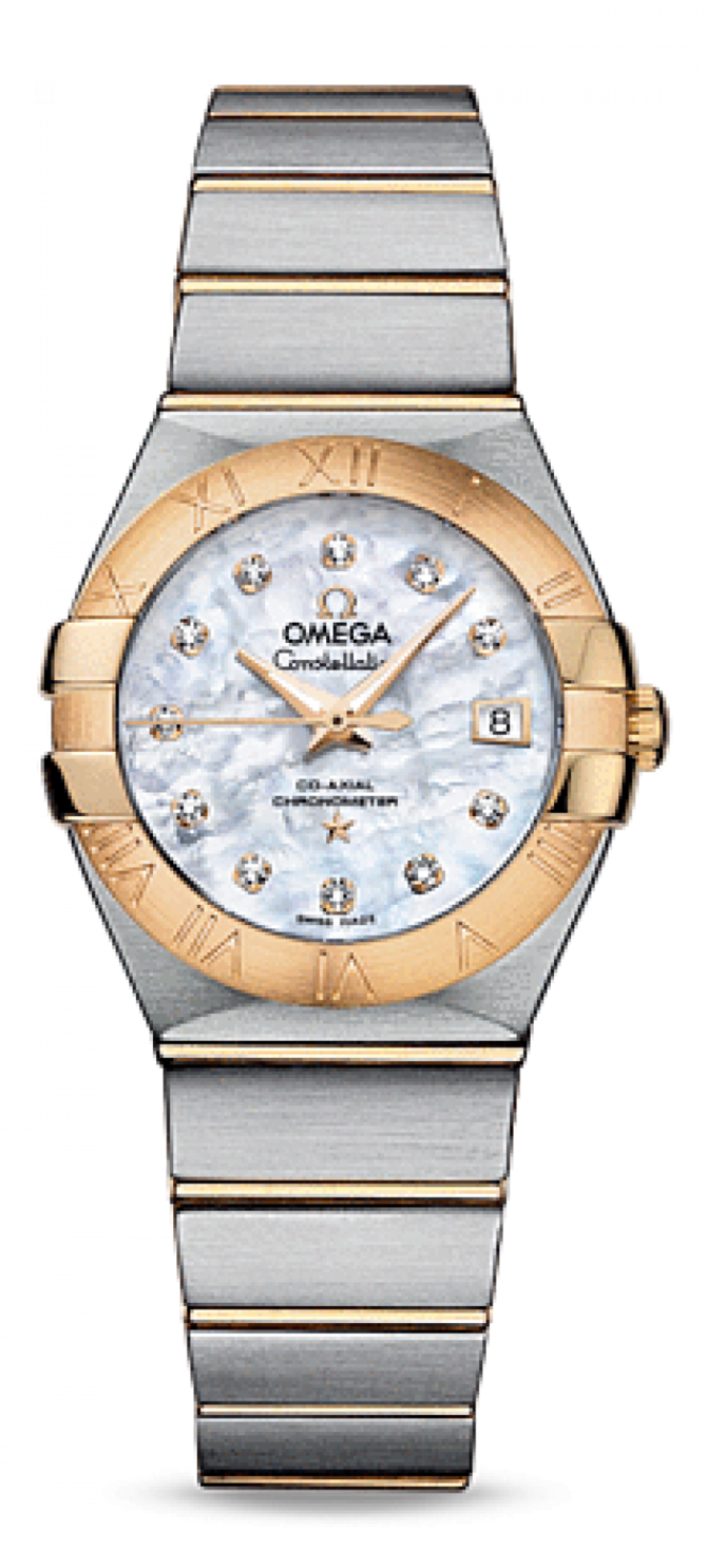 123.20.27.20.55-003 Omega Co-axial Constellation Ladies