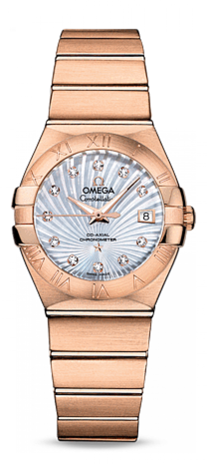 Omega 123.50.27.20.55-001 Constellation Ladies Co-axial - фото 1