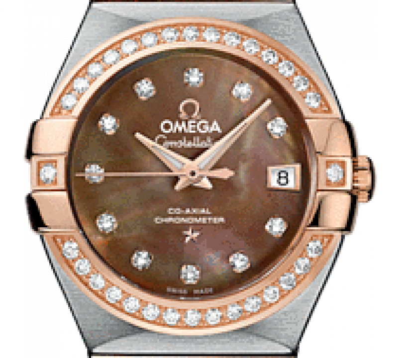 123.25.27.20.57-001 Omega Co-axial Constellation Ladies