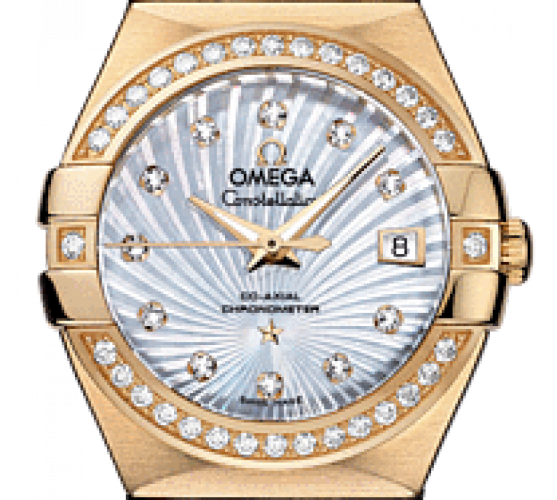 123.55.27.20.55-002 Omega Co-axial Constellation Ladies