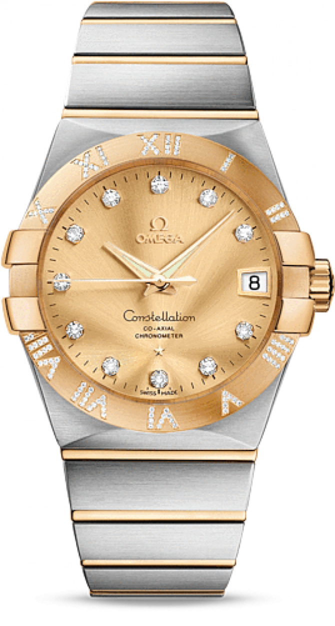 Omega 123.25.38.21.58-002 Constellation Ladies Co-axial - фото 1