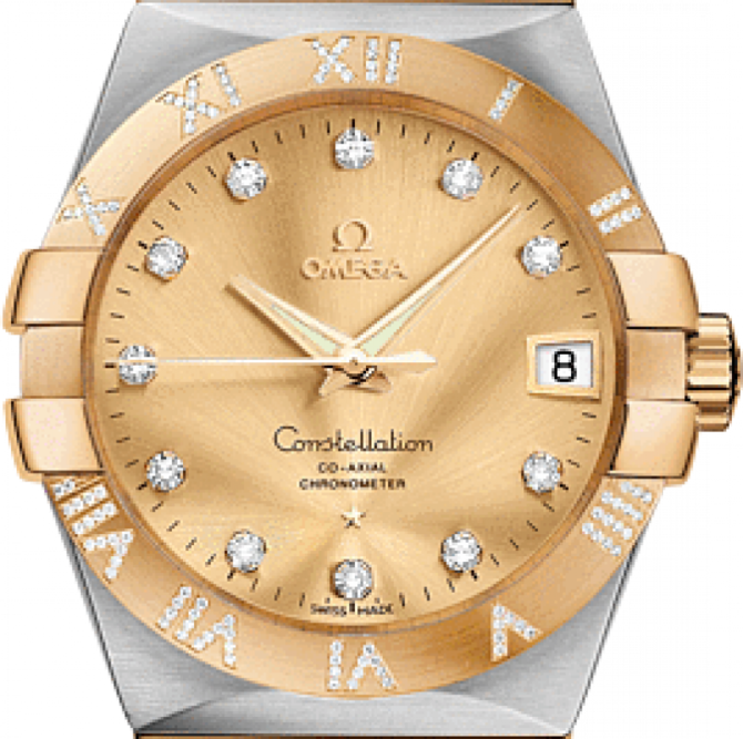 Omega 123.25.38.21.58-002 Constellation Ladies Co-axial - фото 3