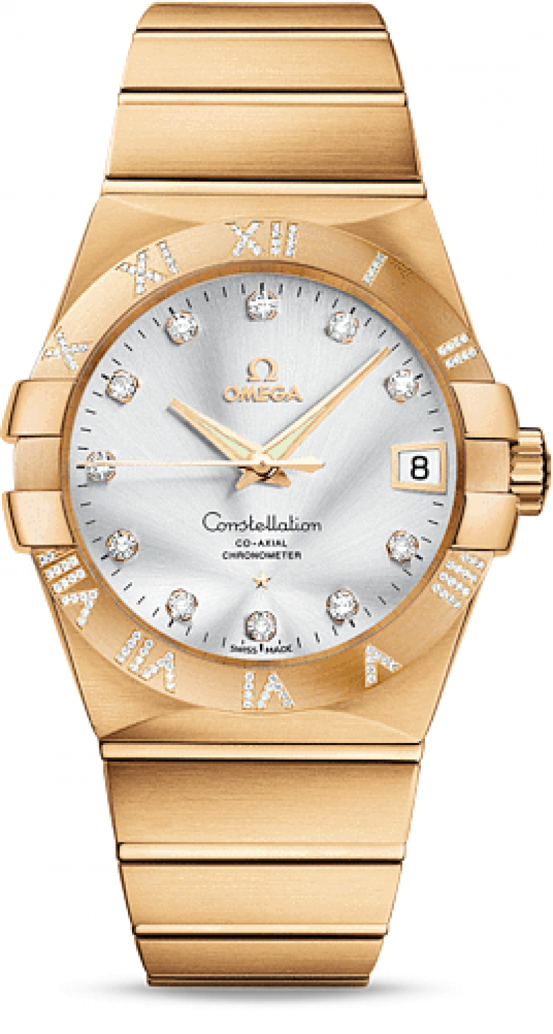 123.55.38.21.52-008 Omega Co-axial Constellation Ladies