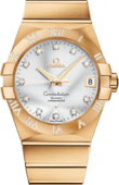 Omega Constellation Ladies 123.55.38.21.52-008 Co-axial