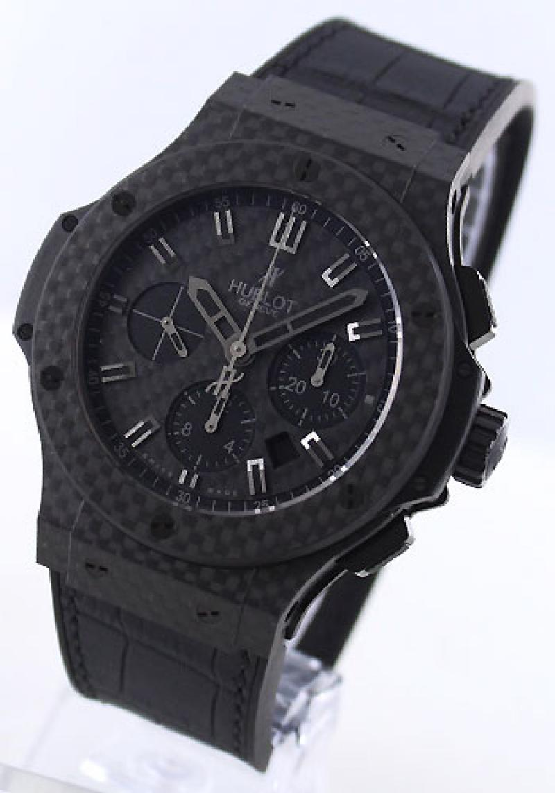 301.QX.1740.GR Hublot All Black Carbon Big Bang 44mm