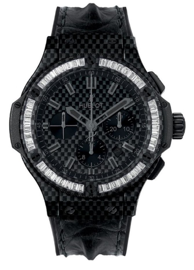 Hublot 301.QX.1740.HR.1904 Big Bang 44mm Big Bang Carbon Bezel Baguette 44 mm - фото 1