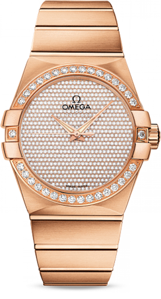 Omega 123.55.38.20.99-004 Constellation Ladies Co-axial - фото 1