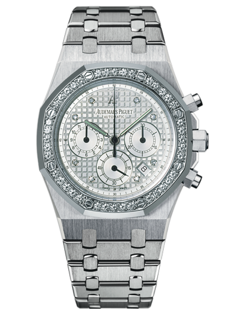 25966BC.ZZ.1185BC.01 Audemars Piguet Chronograph Jeweled Royal Oak
