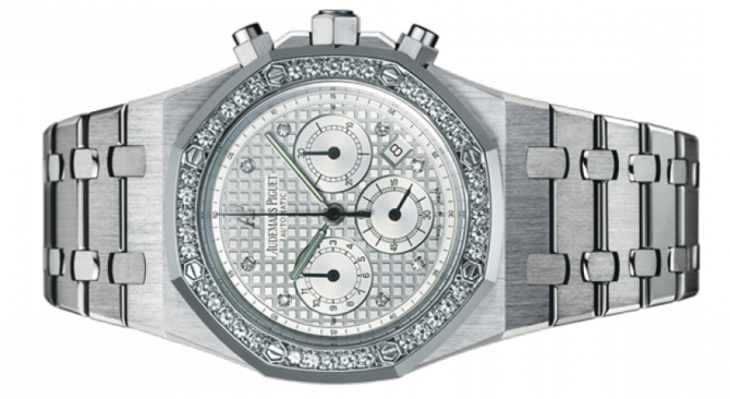 Audemars Piguet 25966BC.ZZ.1185BC.01 Royal Oak Chronograph Jeweled - фото 2