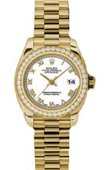 Rolex Datejust Ladies 179138 wrp 26mm Yellow Gold