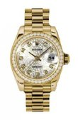 Rolex Datejust Ladies 179138 sjdp 26mm Yellow Gold