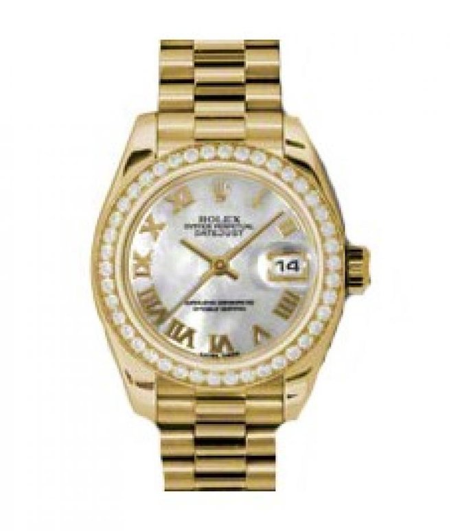Rolex 179138 mrp Datejust Ladies 26mm Yellow Gold - фото 1