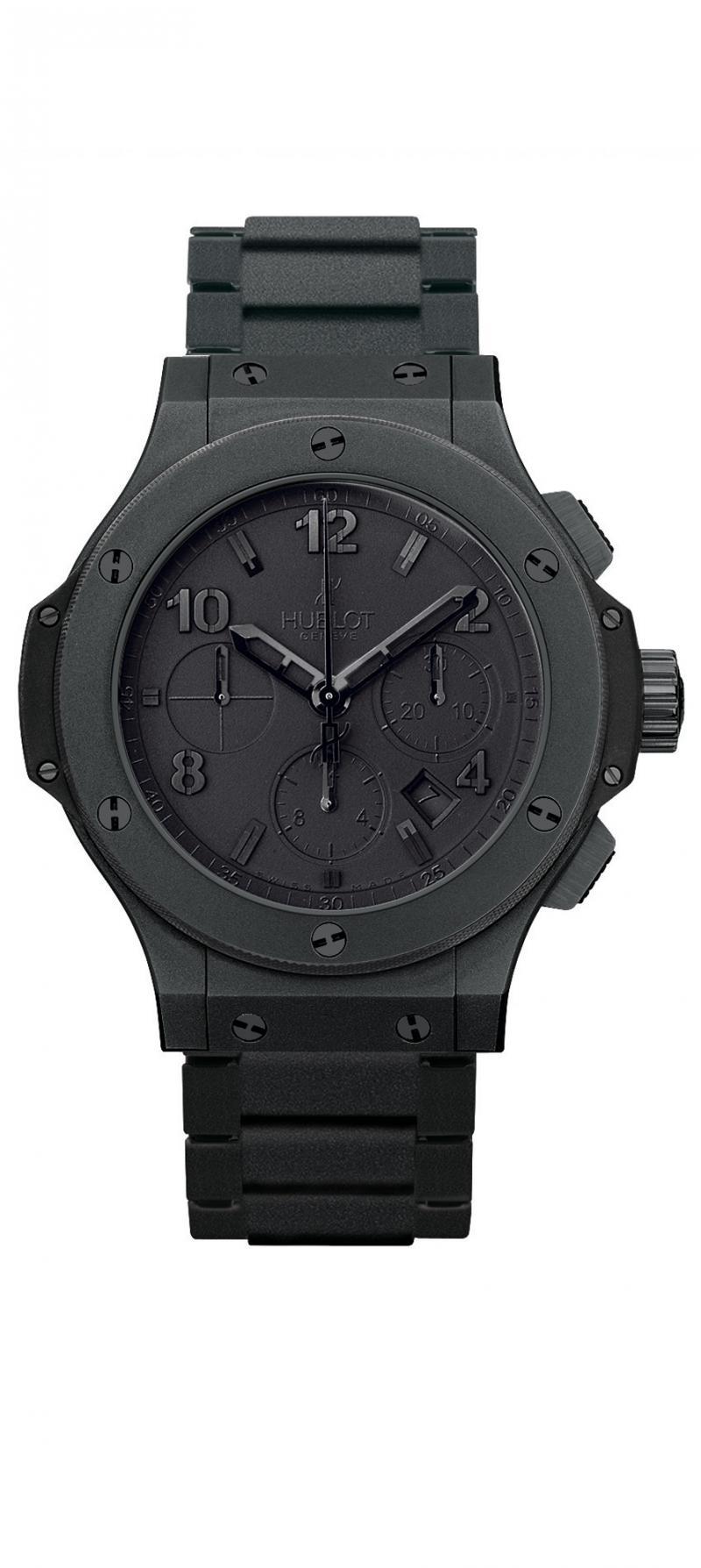 часы hublot all black