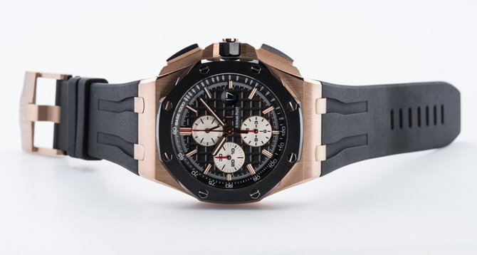 Audemars Piguet 26400RO.OO.A002CA.01 Royal Oak Offshore Chronograph Gold - фото 6
