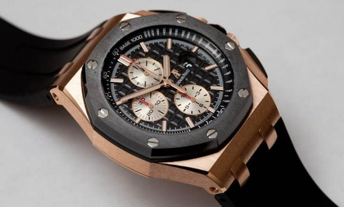 Audemars Piguet 26400RO.OO.A002CA.01 Royal Oak Offshore Chronograph Gold - фото 3