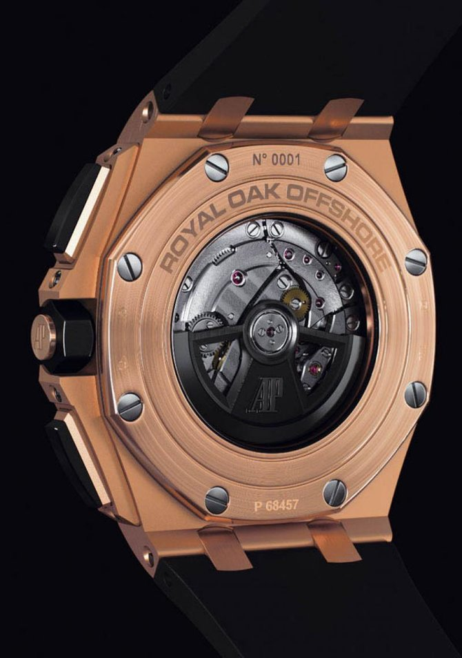 Audemars Piguet 26400RO.OO.A002CA.01 Royal Oak Offshore Chronograph Gold - фото 5