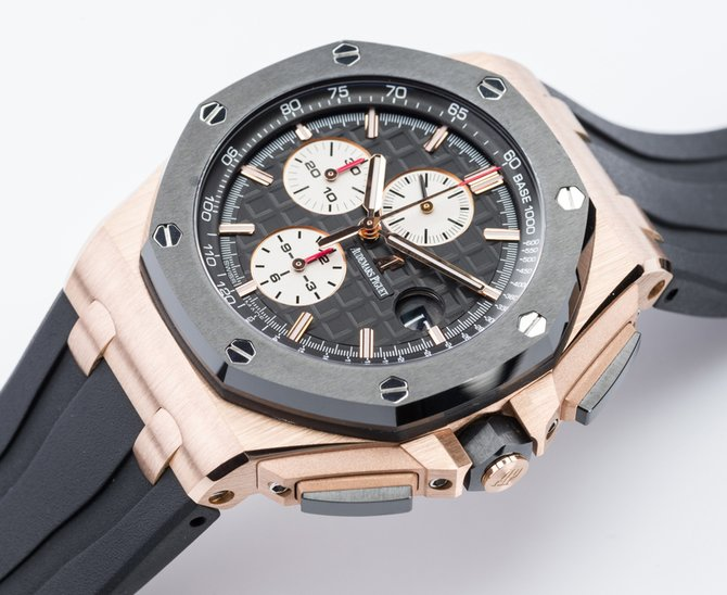 Audemars Piguet 26400RO.OO.A002CA.01 Royal Oak Offshore Chronograph Gold - фото 9