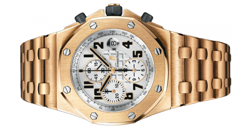 26170OR.OO.1000OR.01 Audemars Piguet Chronograph Gold Royal Oak Offshore