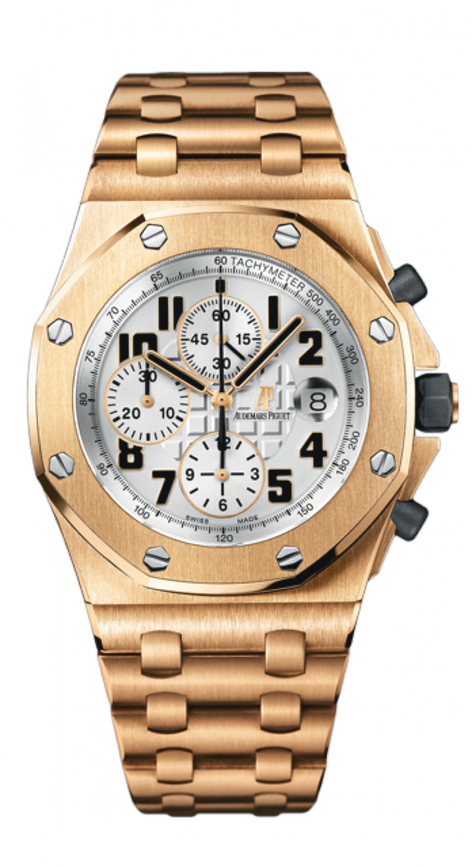 Audemars Piguet 26170OR.OO.1000OR.01 Royal Oak Offshore Chronograph Gold - фото 1