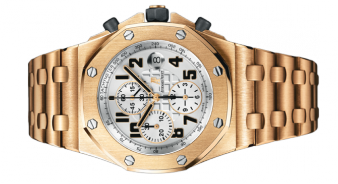 Audemars Piguet 26170OR.OO.1000OR.01 Royal Oak Offshore Chronograph Gold - фото 2