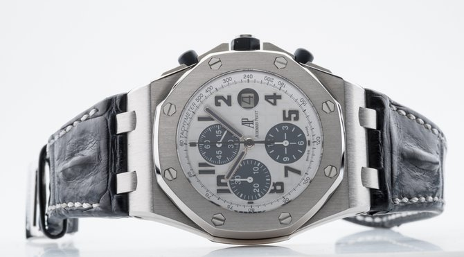 26170ST.OO.D305CR.01 Audemars Piguet Navy Chronograph Royal Oak Offshore