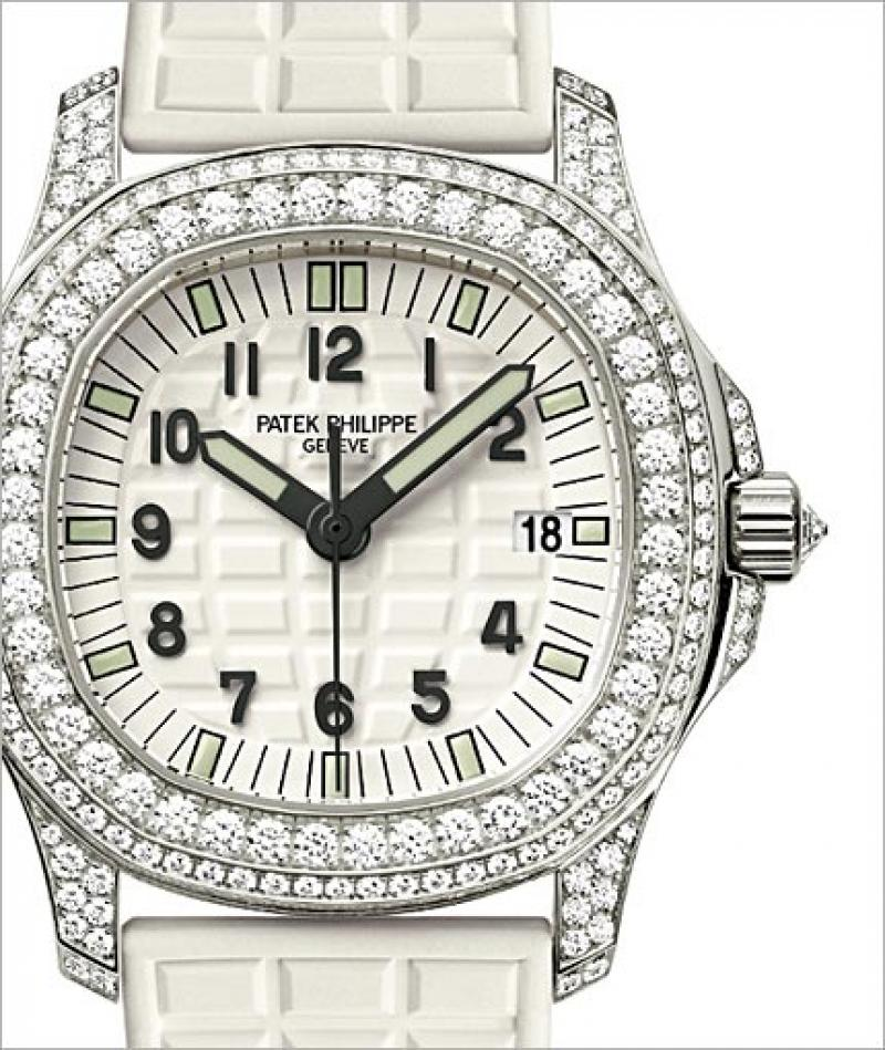5069G-011 Patek Philippe White Gold - Ladies Aquanaut Aquanaut