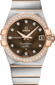 Omega Constellation Ladies 123.25.38.21.63-001 Co-axial