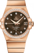 Omega Constellation Ladies 123.55.38.21.63-001 Co-axial