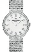 Vacheron Constantin Patrimony Lady 25562/206G-9178 Classique Gold Bracelet Small Model Diamond Set