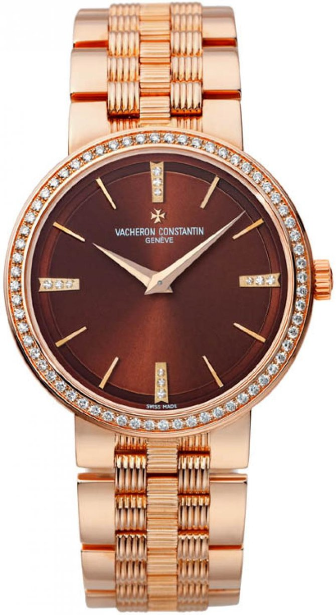 Vacheron Constantin 25557/Q01R-9279 Traditionnelle Lady Traditionnelle Gold Bracelet Small Model Diamond Set