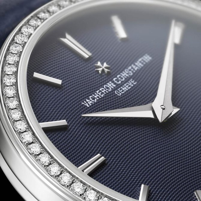 Vacheron Constantin 25558/000G-9758 Traditionnelle Lady Traditionnelle Small Model Diamond Set - фото 3
