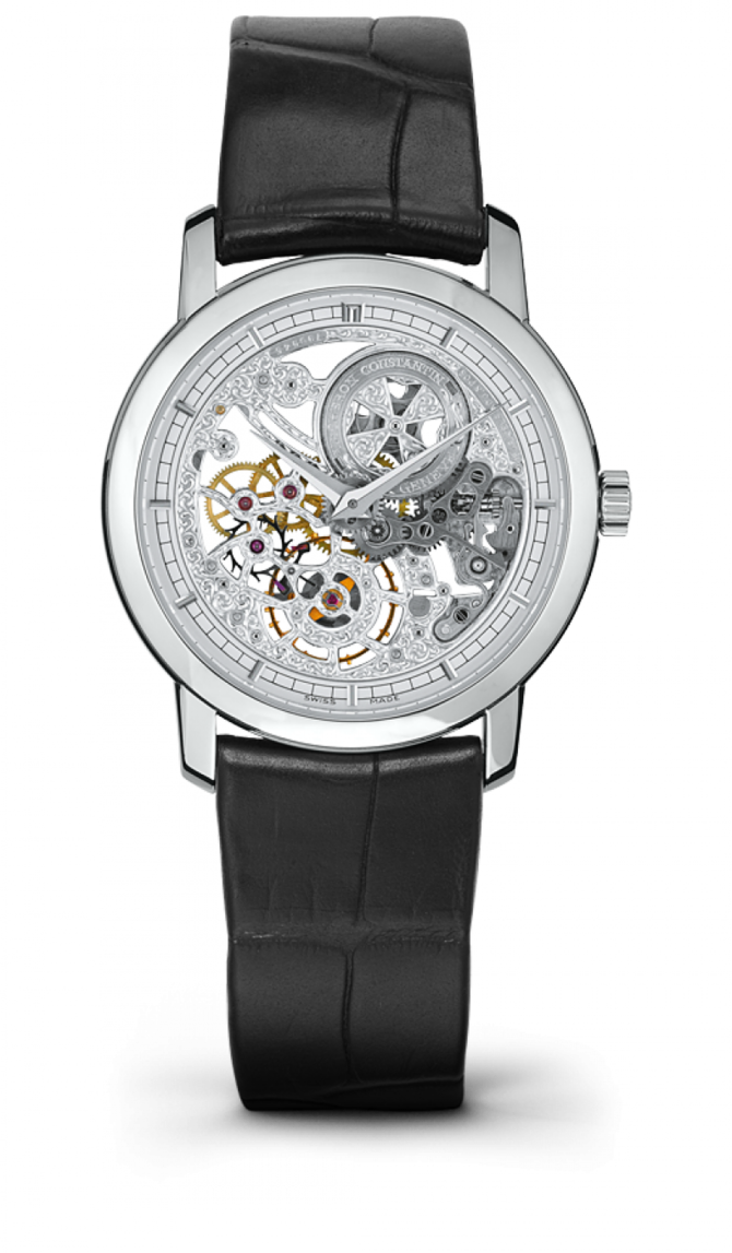 Vacheron Constantin 33158/000G-9394 Traditionnelle Lady Traditionnelle Skeleton Small Model