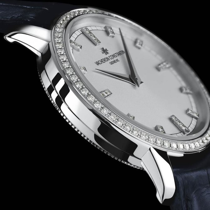 Vacheron Constantin 25558/000G-9405 Traditionnelle Lady Traditionnelle Small Model Diamond Set - фото 3
