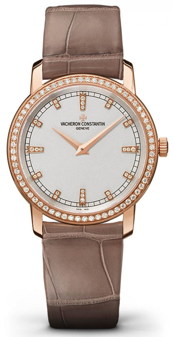 Vacheron Constantin 25558/000R-9406 Traditionnelle Lady Traditionnelle Small Model Diamond Set - фото 1